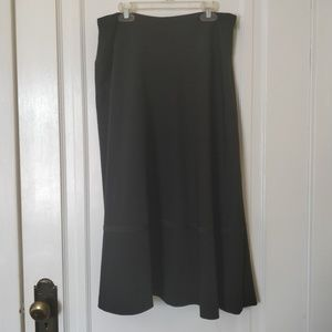 Black Rafaella Skirt Size 12